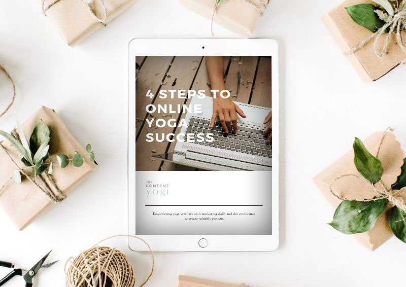 free yoga marketing resources 4 steps to online success